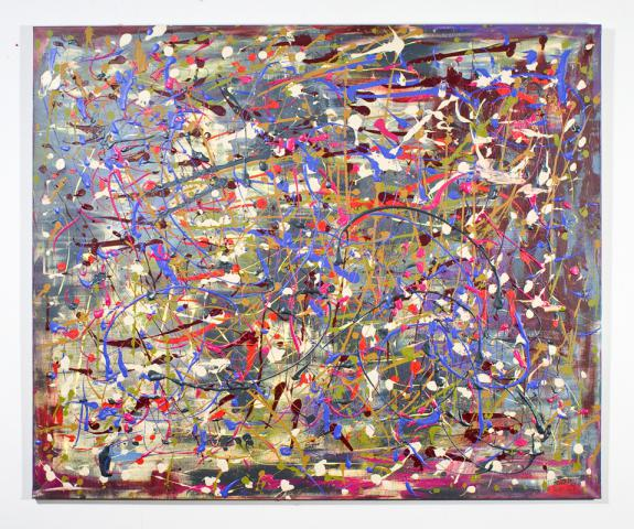 Tribute to Jackson Pollock 2